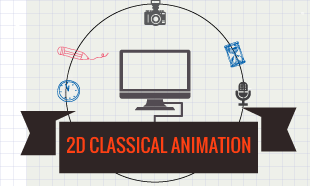 2d animation course in east delhi